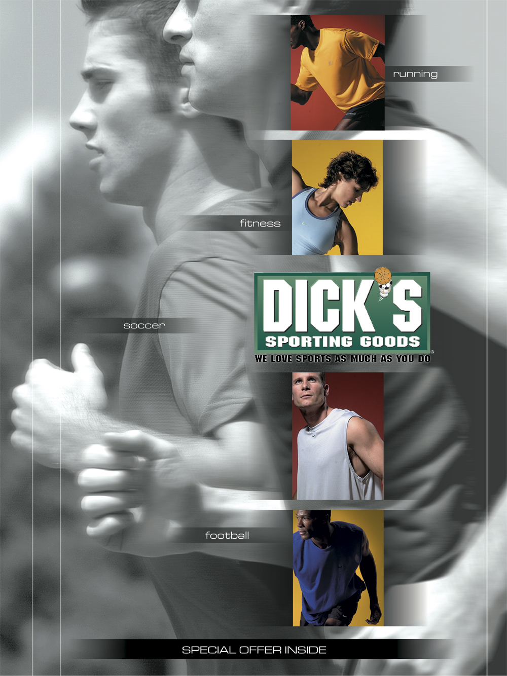 Dick's Sporting Goods, SI ad
